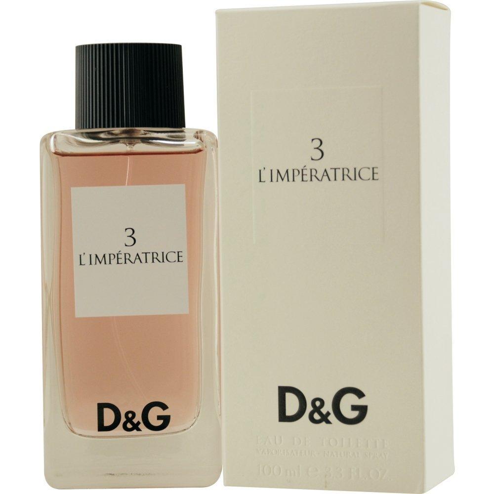DOLCE   GABBANA 3  L IMPÉRATRICE POUR FEMME 100 EDT - Perfume for ... 0179fed2dd64