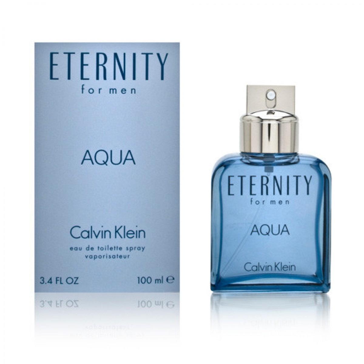 Eternity 100ml Men Ck Aqua For Edt ZTXiOPku