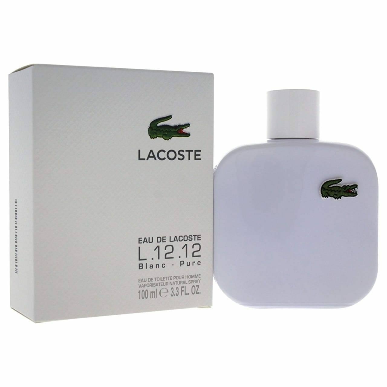 c8cc3e2e7e2142 LACOSTE BLANC PURE EDT 100ML FOR MEN (WHITE)